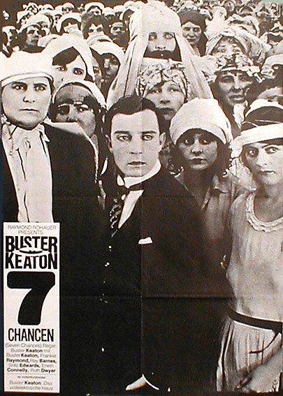 Buster Keaton - 7 Chancen