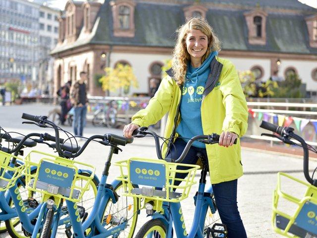 Positive Resonanz: Julia Boss freut sich über den gelungenen Start von BYKE in Frankfurt.